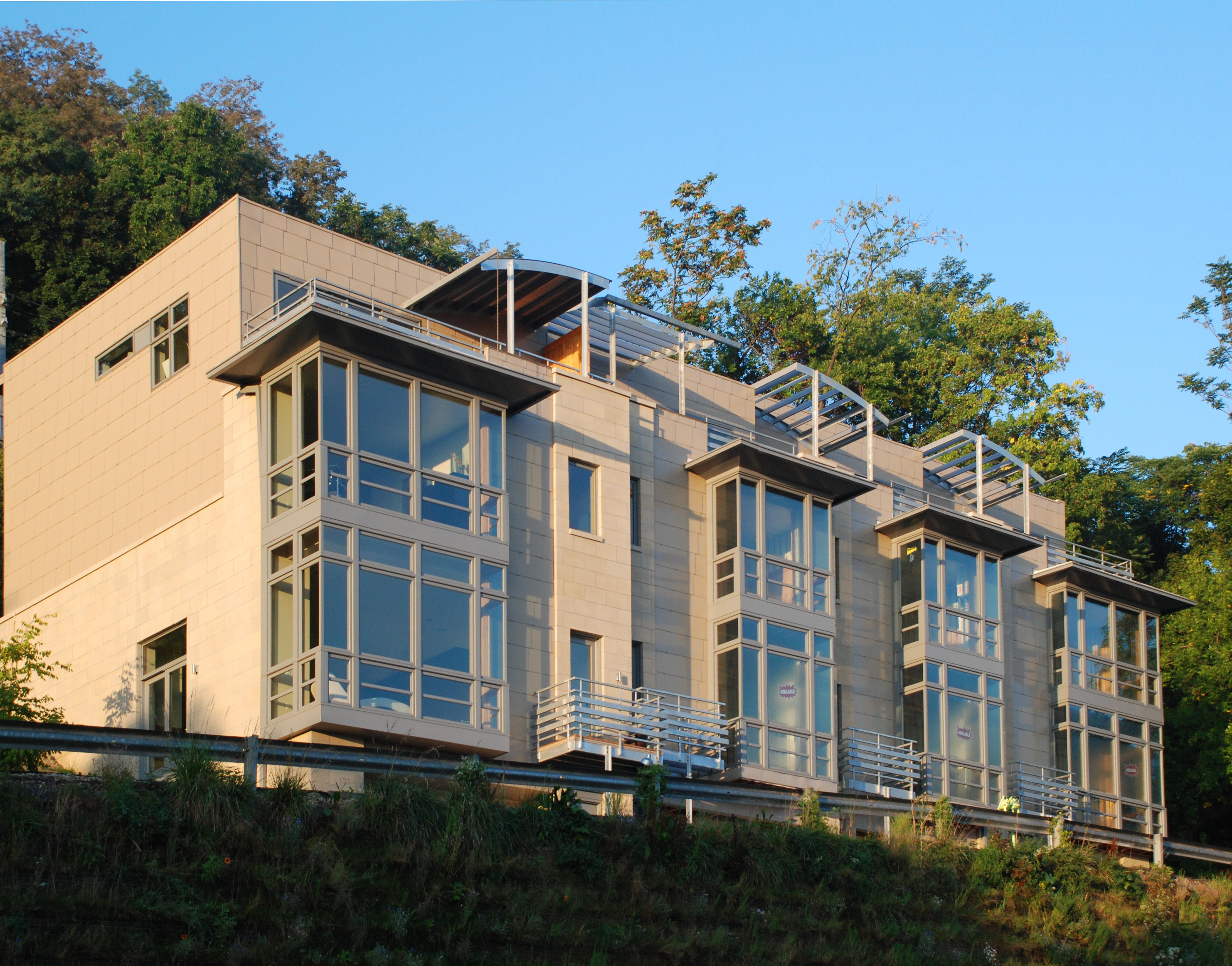 Concrete Building Windom