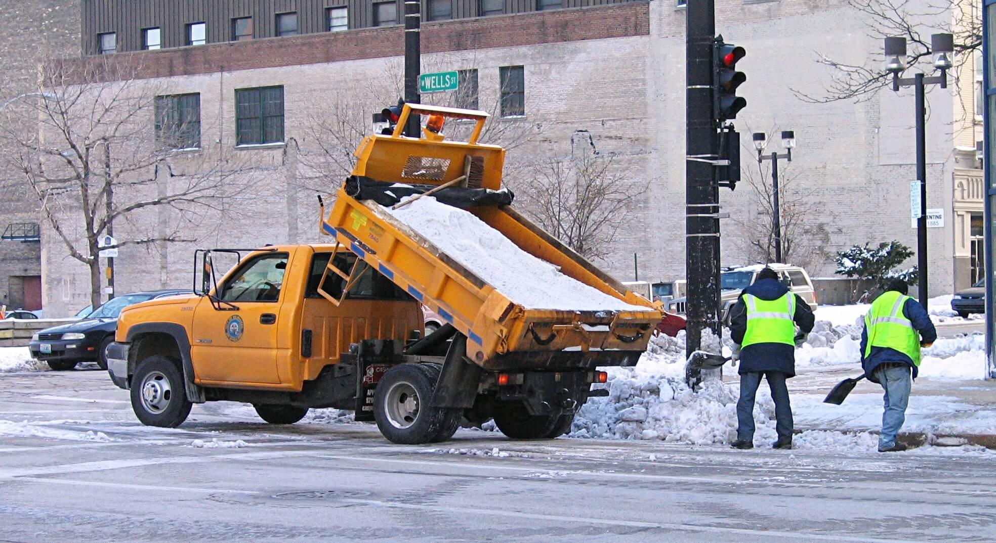 Salt Truck Milwaukee