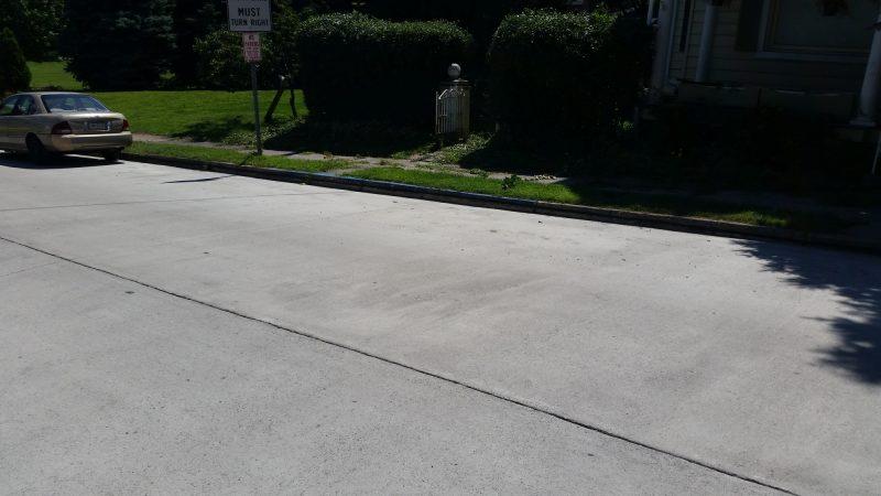 Catasagua Concrete Street
