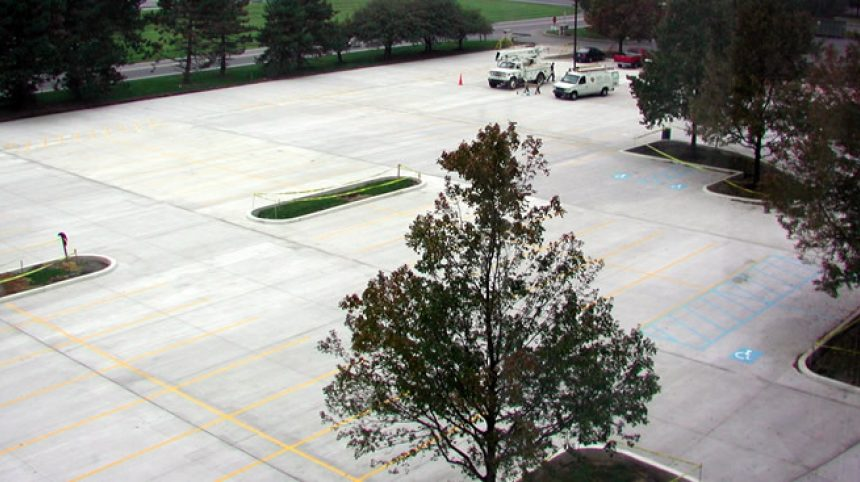 Conventional Concrete Parking