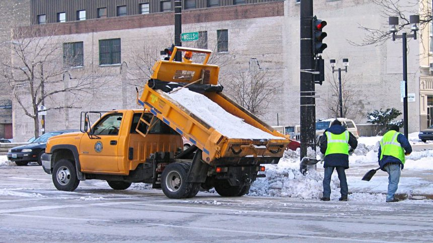 Salt Truck Milwaukee