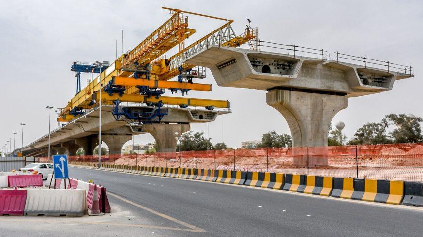 Concrete bridge construction